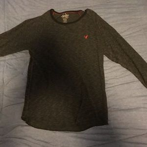 Black American Eagle Sweater